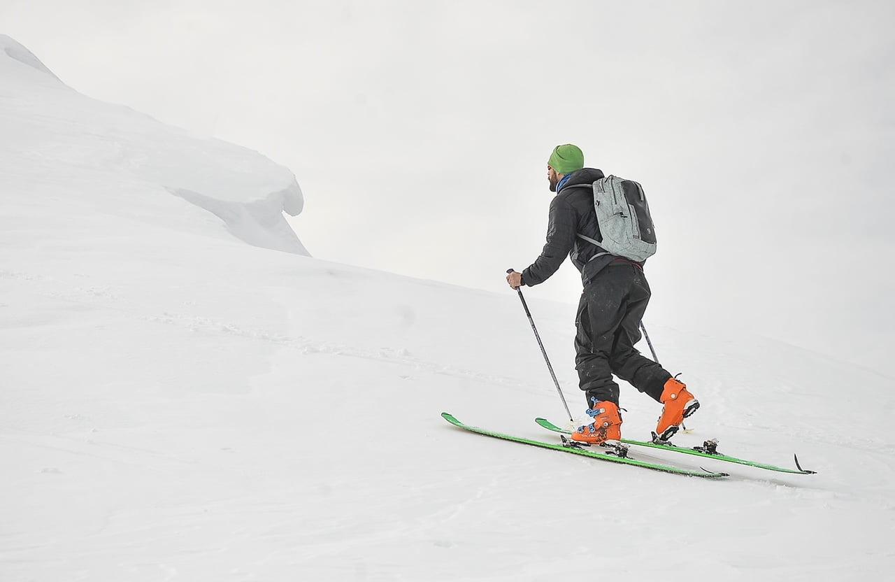 esqui travesía nieve caminata