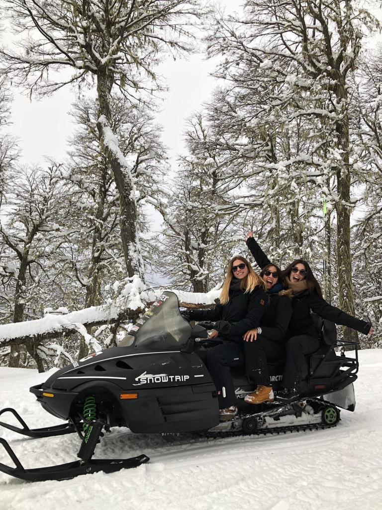 moto de nieve chapelco